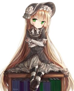 Rating: Questionable Score: 16 Tags: aloniar dress gosick gothic_lolita lolita_fashion skirt_lift victorica_de_broix User: ryoga828