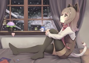 Rating: Safe Score: 47 Tags: animal_ears nekomimi pantyhose sonic0_0 tail User: Mr_GT