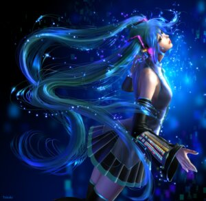 Rating: Safe Score: 15 Tags: hatsune_miku headphones takashi_mare vocaloid User: charunetra