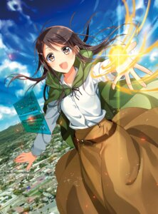 "Rating: Safe Score: 30 Tags: isekai_de_""kuro_no_iyashi_te""_tte_yobareteimasu murakami_yuichi User: blooregardo"
