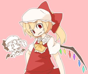 Rating: Safe Score: 2 Tags: 2580rs flandre_scarlet remilia_scarlet touhou wings User: konstargirl