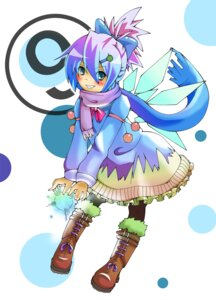 Rating: Safe Score: 6 Tags: cirno dress kittsun touhou wings User: Radioactive