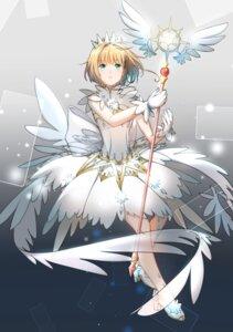 Rating: Safe Score: 17 Tags: alisius card_captor_sakura dress heels kinomoto_sakura weapon wings User: Spidey