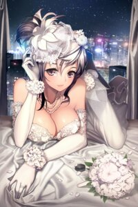 Rating: Safe Score: 119 Tags: cleavage devil_maker:_tokyo dress rheez wedding_dress User: charunetra
