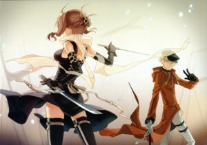 Rating: Safe Score: 39 Tags: h2so4 island_of_horizon sword thighhighs User: Share