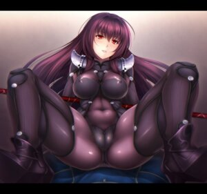 Rating: Questionable Score: 37 Tags: bodysuit cameltoe erect_nipples fate/grand_order heels scathach_(fate/grand_order) weapon yadzuka User: Mr_GT
