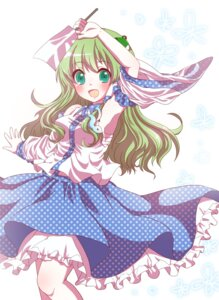 Rating: Safe Score: 18 Tags: dress kochiya_sanae kuromame_(8gou) touhou User: Nekotsúh