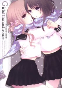 Rating: Safe Score: 30 Tags: chico* chisako seifuku yuri User: DarkRoseofHell