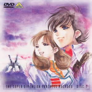 Rating: Safe Score: 3 Tags: disc_cover hayase_misa ichijyo_hikaru macross mikimoto_haruhiko the_super_dimension_fortress_macross User: Radioactive