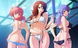 Rating: Questionable Score: 60 Tags: anew_returner ass bikini cleavage erect_nipples feldt_grace gundam gundam_00 sumeragi_lee_noriega swimsuits tadano_akira undressing wallpaper User: abdd