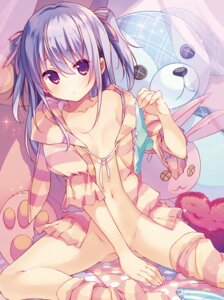 Rating: Questionable Score: 176 Tags: bottomless no_bra open_shirt pantsu takei_ooki thighhighs User: Mr_GT