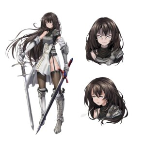 Rating: Questionable Score: 22 Tags: armor expression heels leotard stockings sword tagme thighhighs User: Radioactive