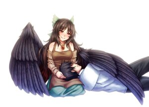 Rating: Safe Score: 14 Tags: monorus reiuji_utsuho touhou wings User: Mr_GT
