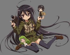 Rating: Safe Score: 19 Tags: chibi seifuku shakugan_no_shana shana thighhighs transparent_png User: yueshana314