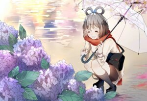 Rating: Safe Score: 26 Tags: luo_tianyi sweater umbrella vocaloid weitu User: mattiasc02