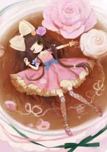 Rating: Safe Score: 14 Tags: dress kabasawa_kina lolita_fashion thighhighs User: hobbito