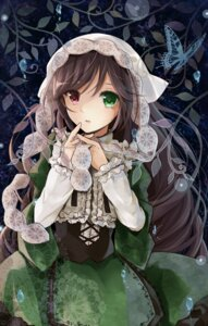 Rating: Safe Score: 35 Tags: heterochromia lolita_fashion puracotte rozen_maiden suiseiseki User: animeprincess