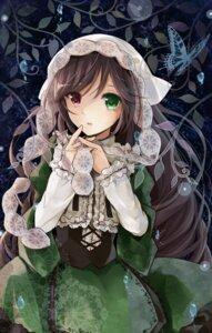 Rating: Safe Score: 36 Tags: heterochromia lolita_fashion puracotte rozen_maiden suiseiseki User: animeprincess