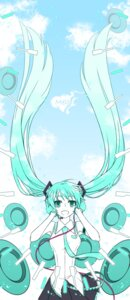 Rating: Safe Score: 9 Tags: azrain hatsune_miku headphones melt_(vocaloid) vocaloid User: charunetra