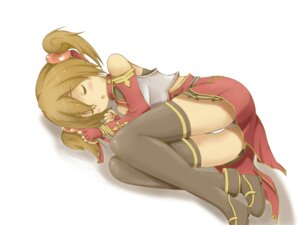 Rating: Questionable Score: 39 Tags: aliasing armor noah5224 pantsu silica sword_art_online thighhighs User: memes