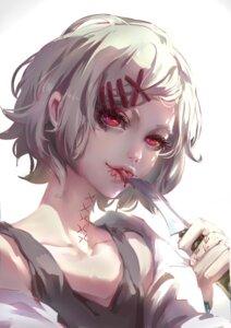 Rating: Safe Score: 20 Tags: baimumi blood suzuya_juuzou tokyo_ghoul weapon User: BattlequeenYume