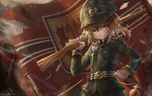 Rating: Safe Score: 19 Tags: gun shirokun0824 tanya_degurechaff uniform youjo_senki User: NotarySojac
