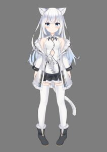 Rating: Safe Score: 31 Tags: animal_ears asian_clothes fuyuki030 nekomimi tail thighhighs transparent_png User: sym455