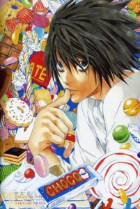 Rating: Safe Score: 10 Tags: death_note l male obata_takeshi screening User: Brufh