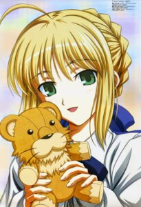 Rating: Safe Score: 11 Tags: fate/stay_night ishihara_megumi saber User: Radioactive