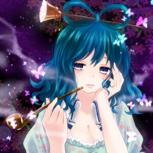 Rating: Safe Score: 15 Tags: cleavage kaku_seiga nunucco touhou User: Nekotsúh