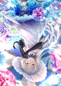 Rating: Safe Score: 19 Tags: akasaka_asa blue_oath cleavage dress jervis_(blue_oath) pantyhose umbrella User: Mr_GT