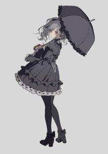 Rating: Safe Score: 28 Tags: dress gothic_lolita heels kanzaki_ranko lolita_fashion tagme the_idolm@ster the_idolm@ster_cinderella_girls umbrella User: KazukiNanako