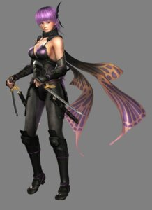 Rating: Safe Score: 21 Tags: ayane_(doa) bodysuit cg cleavage dead_or_alive ninja ninja_gaiden ninja_gaiden_2 sword weapon User: YamatoBomber
