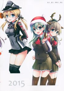 Rating: Questionable Score: 17 Tags: animal_ears ayuest ayuya bondage christmas horns kantai_collection kumano_(kancolle) prinz_eugen_(kancolle) seifuku stockings suzuya_(kancolle) thighhighs uniform User: Radioactive
