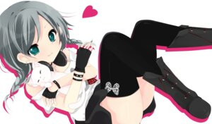 Rating: Safe Score: 20 Tags: neko sakuragi_yuzuki thighhighs User: Riven