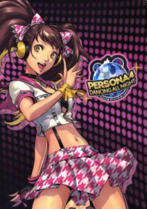 Rating: Safe Score: 35 Tags: bikini_top headphones kujikawa_rise megaten open_shirt persona persona_4 persona_4:_dancing_all_night soejima_shigenori User: Radioactive