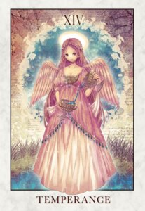 Rating: Safe Score: 13 Tags: cleavage dress mirusa wings User: charunetra