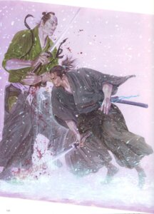 Rating: Questionable Score: 3 Tags: inoue_takehiko male sword vagabond User: Umbigo