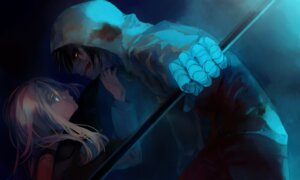 Rating: Safe Score: 16 Tags: bandages gen_(unknown_clown) isaac_foster rachel_gardner satsuriku_no_tenshi weapon User: charunetra