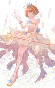 Rating: Safe Score: 15 Tags: card_captor_sakura dress kinomoto_sakura tagme weapon User: charunetra