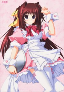 Rating: Safe Score: 18 Tags: dreamparty thighhighs tsukimori_hiro waitress User: es