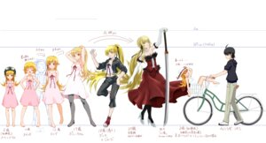 Rating: Safe Score: 46 Tags: araragi_koyomi bakemonogatari dress hizumi oshino_shinobu pantyhose sword User: VP1
