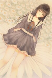 Rating: Safe Score: 29 Tags: flowers innocent_grey seifuku shirahane_suou sugina_miki User: Hatsukoi