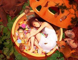 Rating: Questionable Score: 24 Tags: dress halloween oshoo User: Radioactive