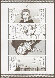 Rating: Safe Score: 4 Tags: 4koma aoki_ume apricot+ kamijo_kyosuke male megane monochrome puella_magi_madoka_magica User: animeprincess