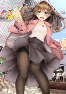 Rating: Safe Score: 46 Tags: crossover kantai_collection konno_junko kumano_(kancolle) minamoto_sakura mizuno_ai narushima_kanna pantsu pantyhose skirt_lift zombieland_saga User: RyuZU