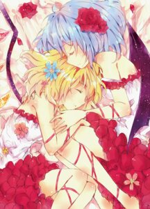 Rating: Safe Score: 22 Tags: flandre_scarlet mie_lang remilia_scarlet touhou wings User: Riven