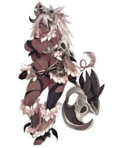 Rating: Questionable Score: 19 Tags: animal_ears bikini_armor breasts eyepatch garter horns kenkou_cross monster_girl tagme tail thighhighs weapon User: NotRadioactiveHonest
