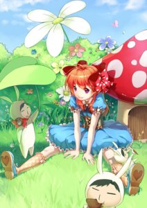 Rating: Safe Score: 30 Tags: alice_in_wonderland dress gekkan_shoujo_nozaki-kun hmniao nozaki_umetarou sakura_chiyo User: Mr_GT
