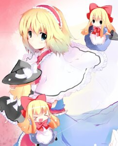 Rating: Safe Score: 14 Tags: alice_margatroid kirisame_marisa shanghai shichinose touhou User: fairyren